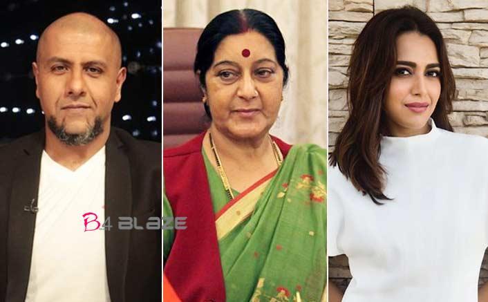 Swara, Vishal Dadlani defend Sushma against trolls