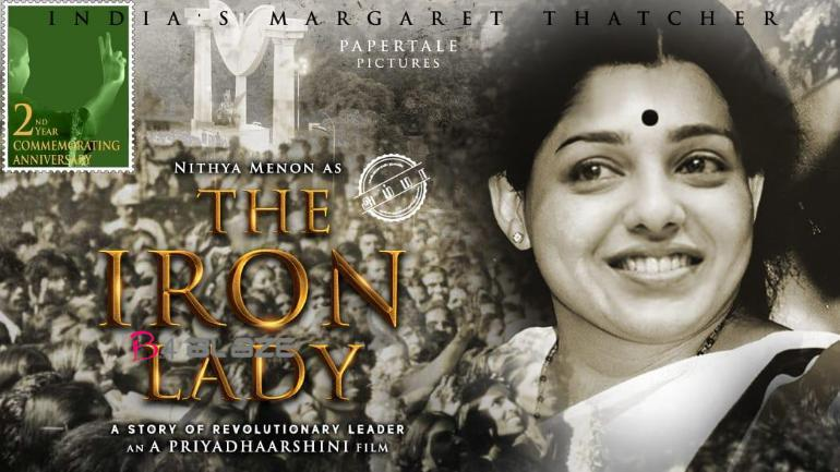 Nithya menen as Jayalalithaa