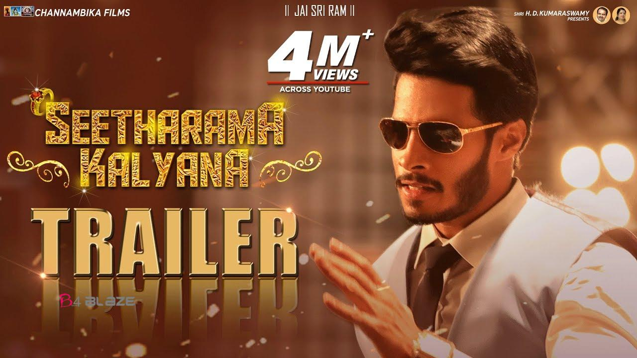 seetharama kalayana movie trailer