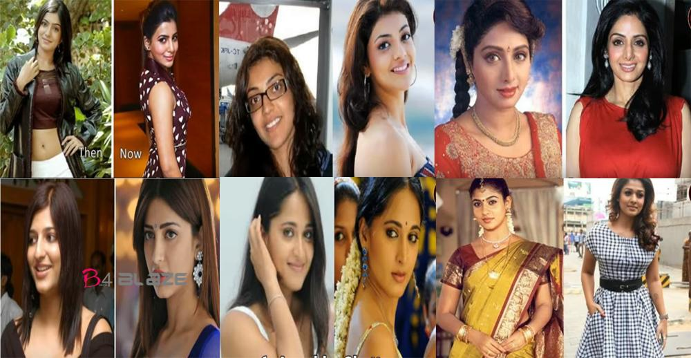 south indian actresses before and after plastic surgery