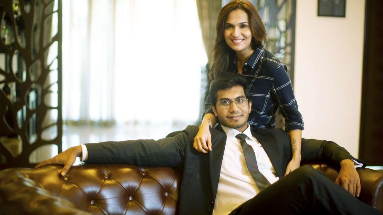 Rajinikanth's Daughter with future husband Vaishakan