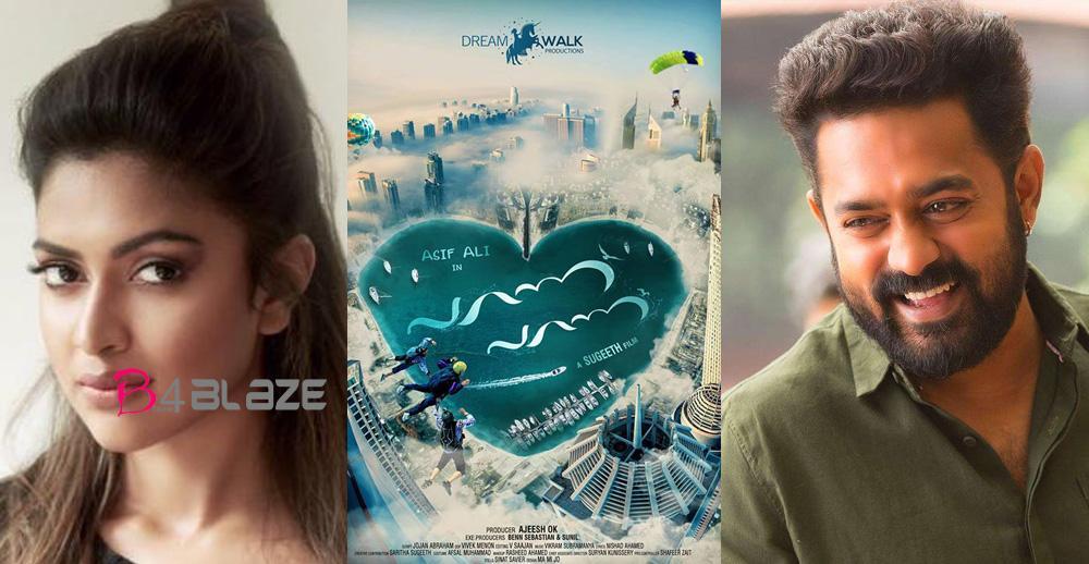 Asif ali and Amala Paul new film 'Parannu Parannu'