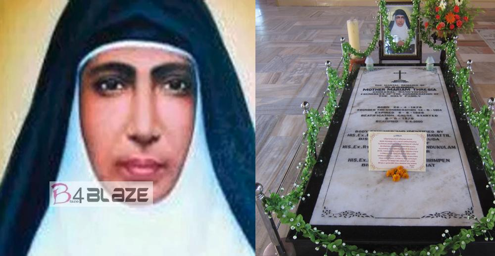 Mariam Thresia as saint on October 13 Pope Francis declared!