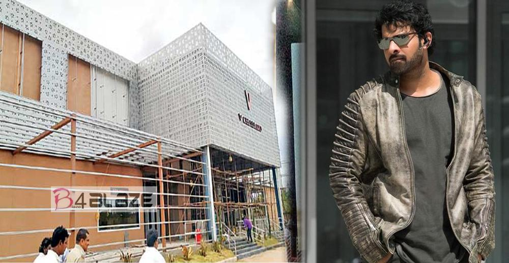 Asia's biggest screen 'V Epic' multiplex launched in Sulloorpet Saaho is the First Movie!