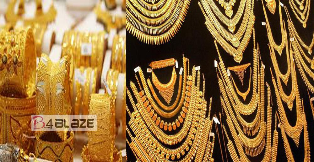 Gold touches all-time high record! Rs 38,770 on jewellers' buying