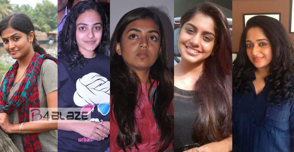 Mollywood Actresses without makeup