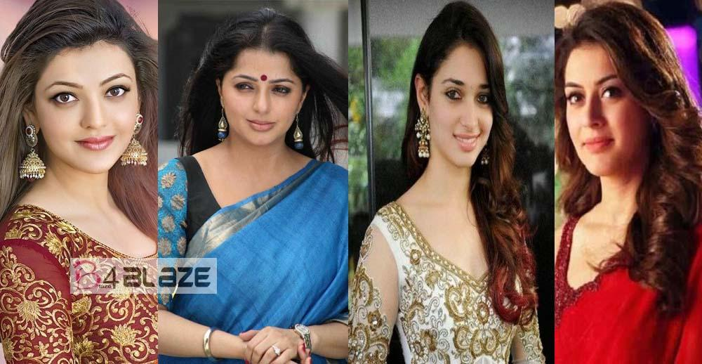 Not a South Indians; But they are South Indian Cinema Actresses!