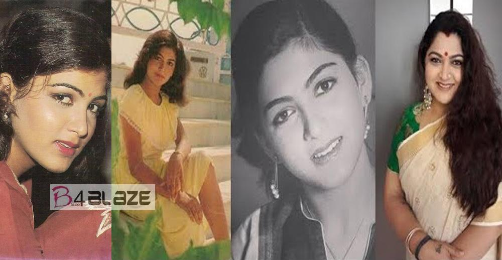 These Photos are says South Indian Actress Khushbu was how Beautiful