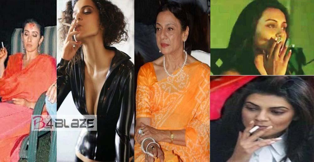 Top 7 Smoking Actresses in Bollywood