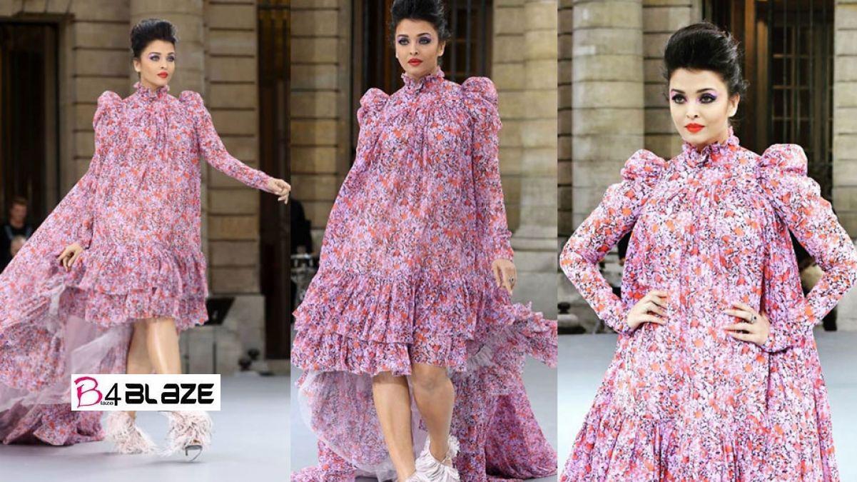 Aishwarya Rai Blasts Fans At Paris Fashion Week