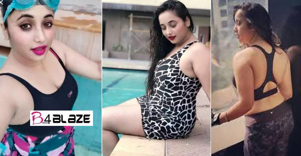 Bhojpuri girl Rani Chatterjee got a new hot swimsuit photoshoot 6