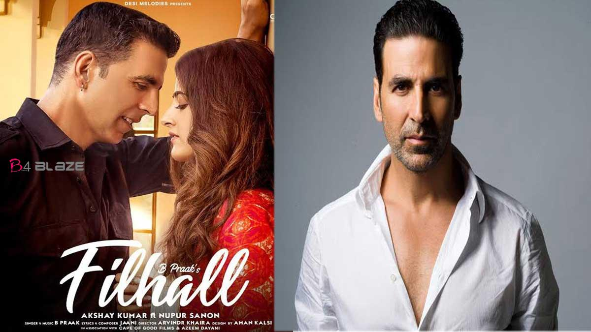 Akshay Kumar has released his first music video ever