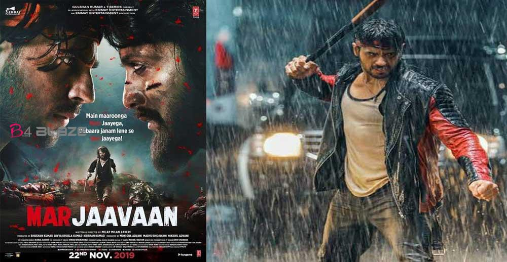 Marjaavaan Box office collection, film earns Rs 7.03 crore in first day.