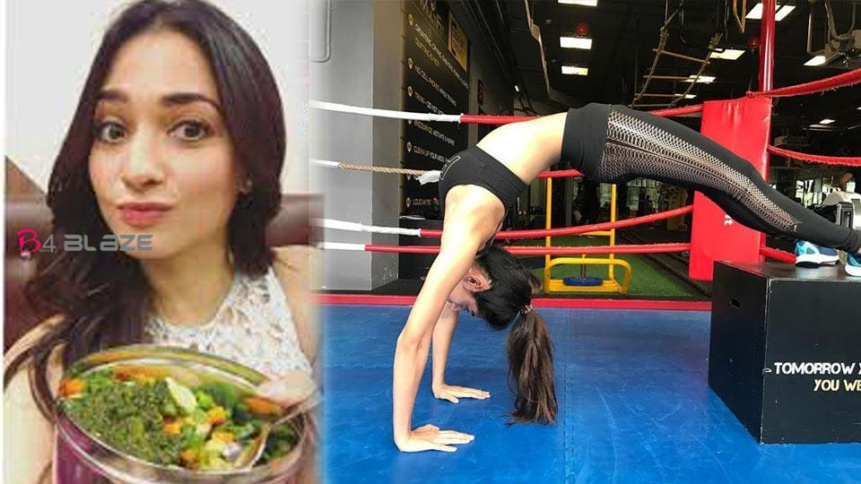 'Bahubali' actress Tamannaah Bhatia revealed her fitness and diet secret
