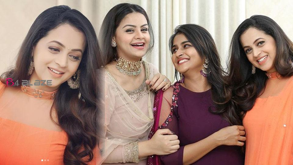 Bhavana shared her lovable moments with her best friends