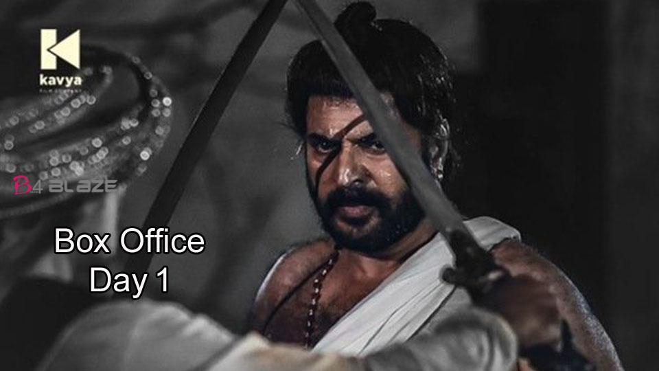 Mamangam First Day Box Office