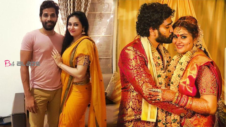 Namitha's important announcement about her husband