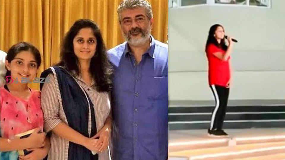 Thala Ajith's Daughter Anoushka's Song went viral!