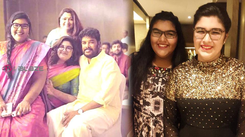 Kushbu's daughter's dream comes true
