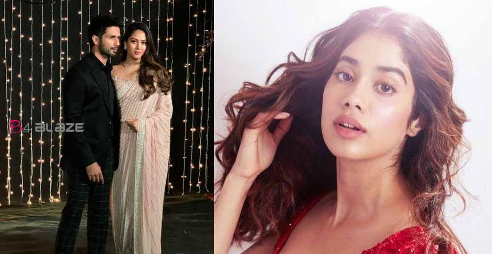 Shahid Kapoor, Janhvi Kapoor and others shower acclaim on Mira Rajput as she staggers in shimmery dark clothing