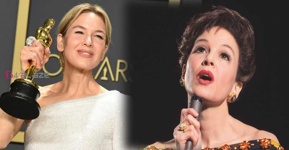 """Renee Zellweger"" Best actress Oscar for 'Judy'"