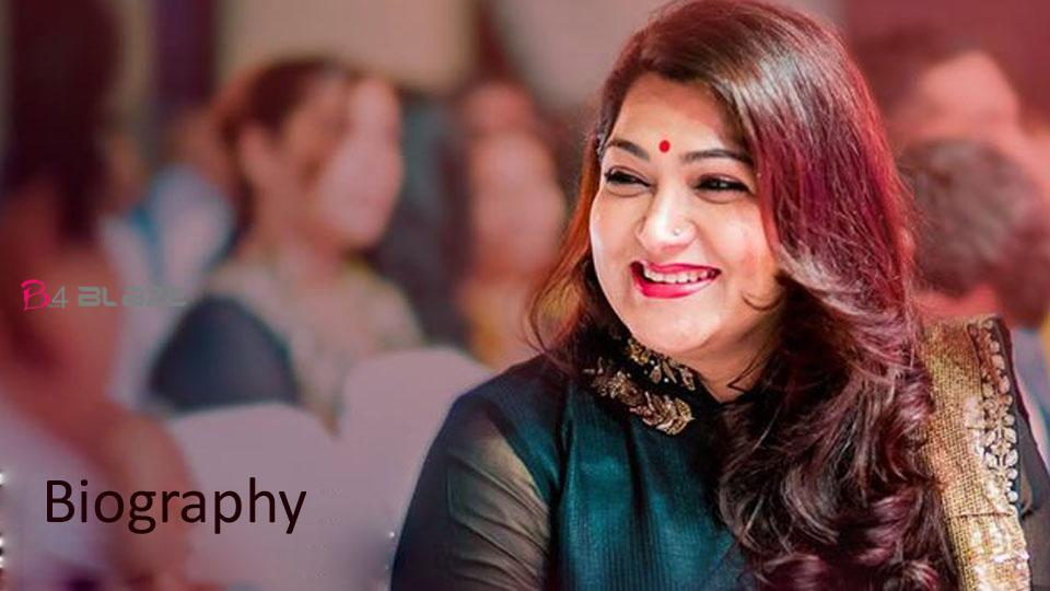 Kushboo Biography, Age, Photos, and Family
