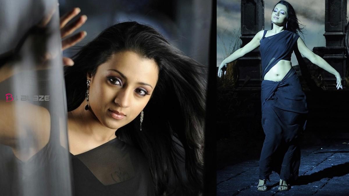 Trisha-Krishnan-Hot-Saree-Photos