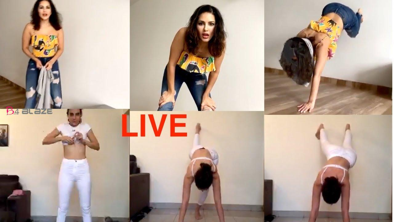 Sunny Leone's New Challange Now Viral on Social Media!
