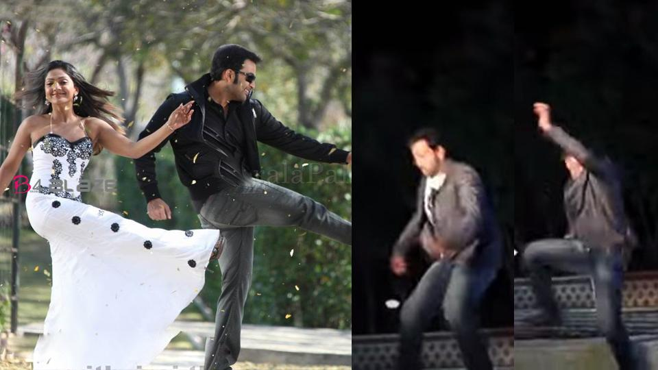 Prithviraj suddenly falls down, and he could not move his legs few days (video)