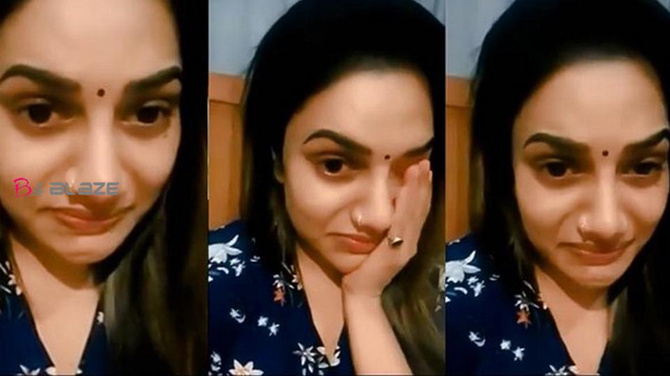 Rimi Tomy gets emotional, Video went viral