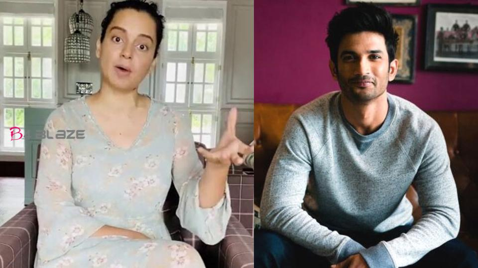 'It is not suicide, it is a deliberate homicide'; Kangana Ranaut with allegations