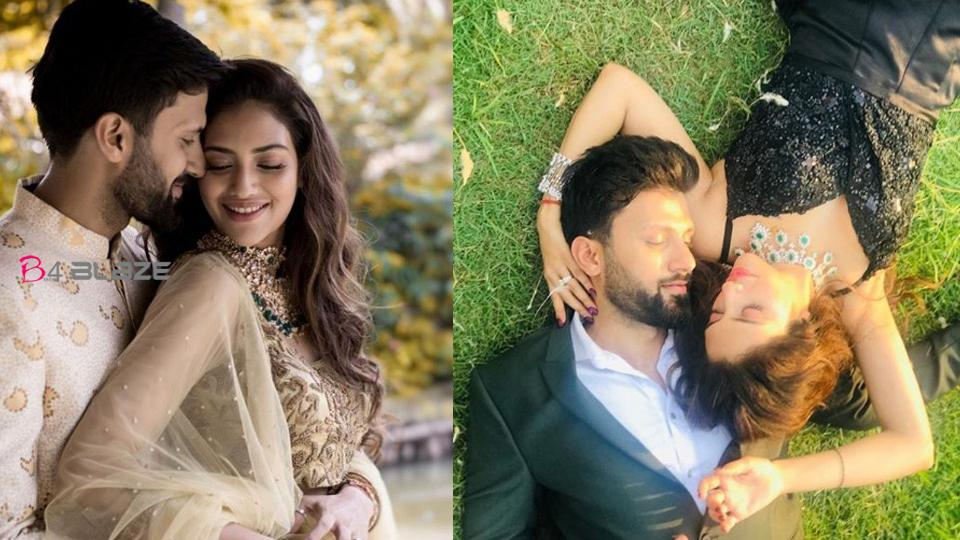 MP and actress Nusrat Jahan shares romantic photo with husband on the first wedding anniversary