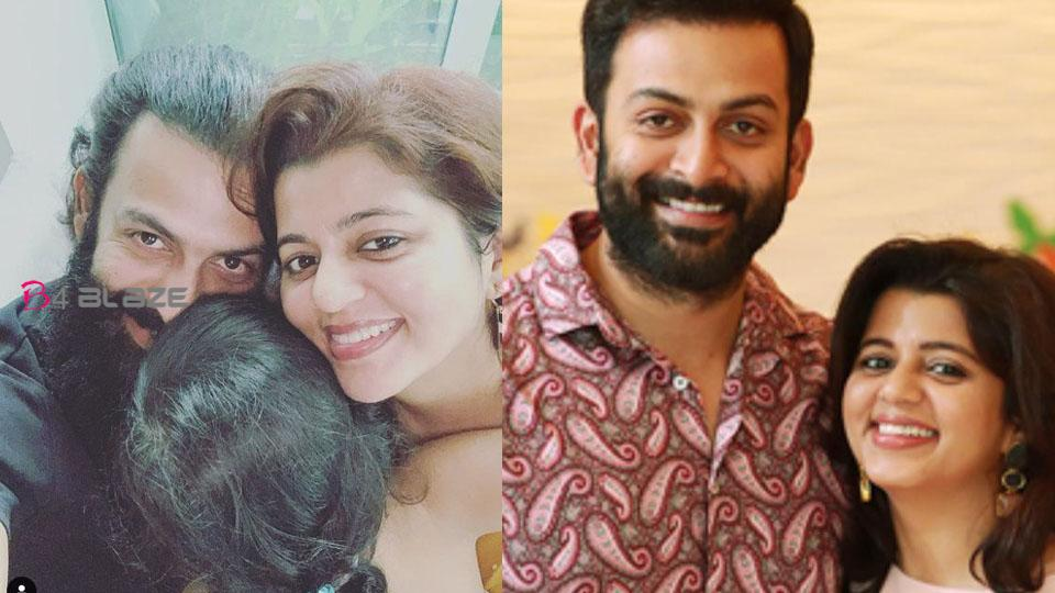 Prithviraj with Supriya and Alli after Quarantine; A beautiful moment shared with the fans