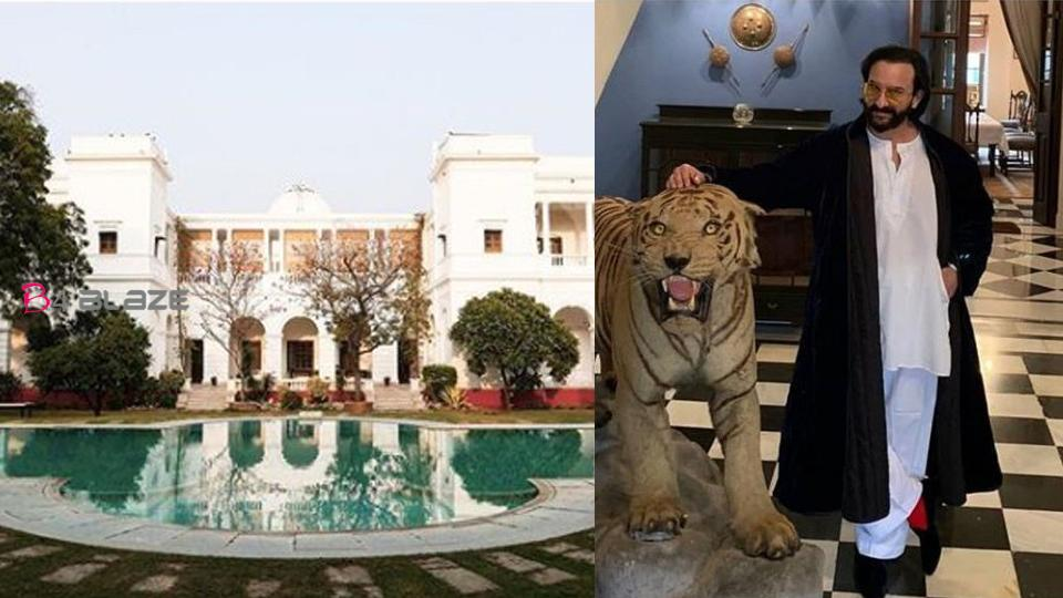 Saif Ali Khan's luxurious Pataudi Palace worth Rs 800 crore, see inside photos of this 150-room palace