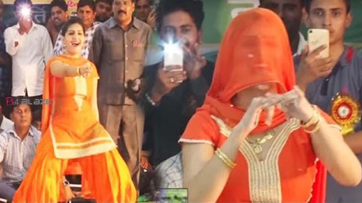 Sapna Chaudhary Dance Video Divya fans watching 'Haryanvi Queen' dance on Hawa Kasuti