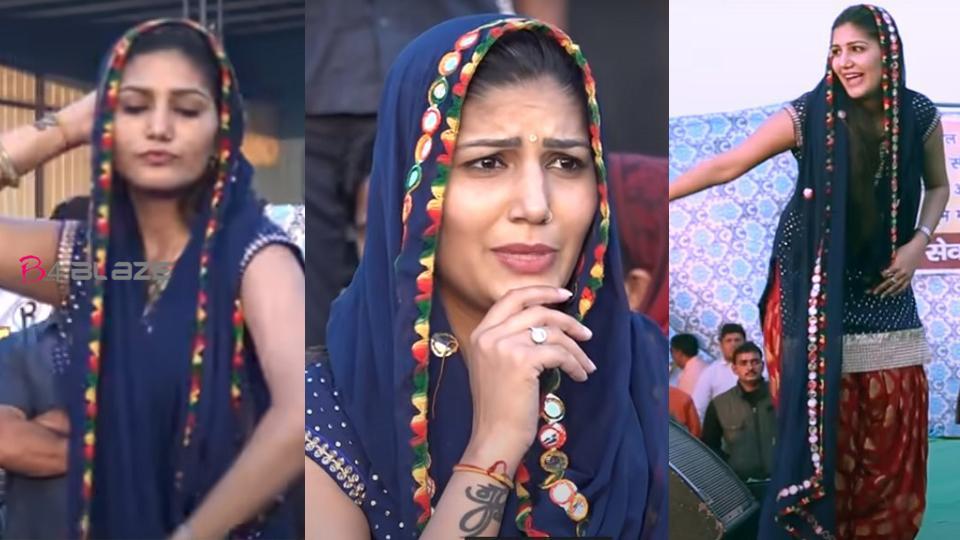 Sapna Chaudhary did a bang dance, Video goes viral