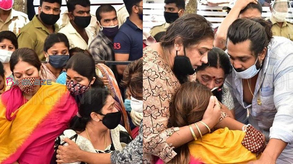 Wife Meghna weeps bitterly during Chiranjeevi's last visit to Surja!
