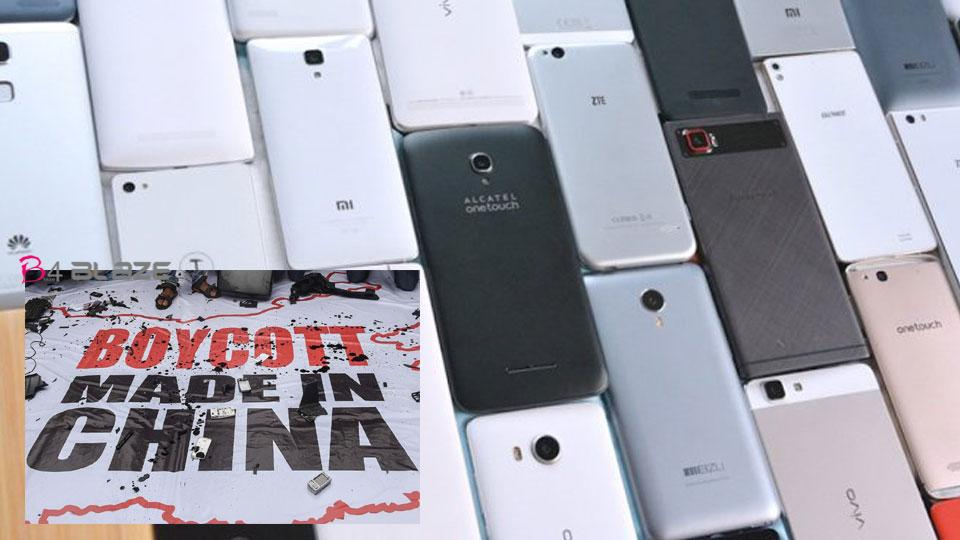 After the tension on the Indo-China border the sale of Chinese mobiles decreased