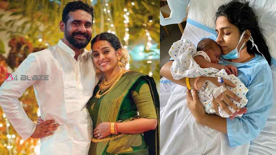 Actor and director Siddharth Bharathan blessed with a baby girl!