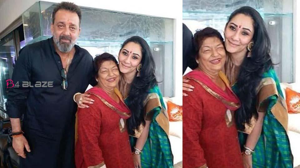 Sanjay Dutt got emotional after remembering Saroj Khan, expressed sadness by sharing photo of choreographer with wife Manyata