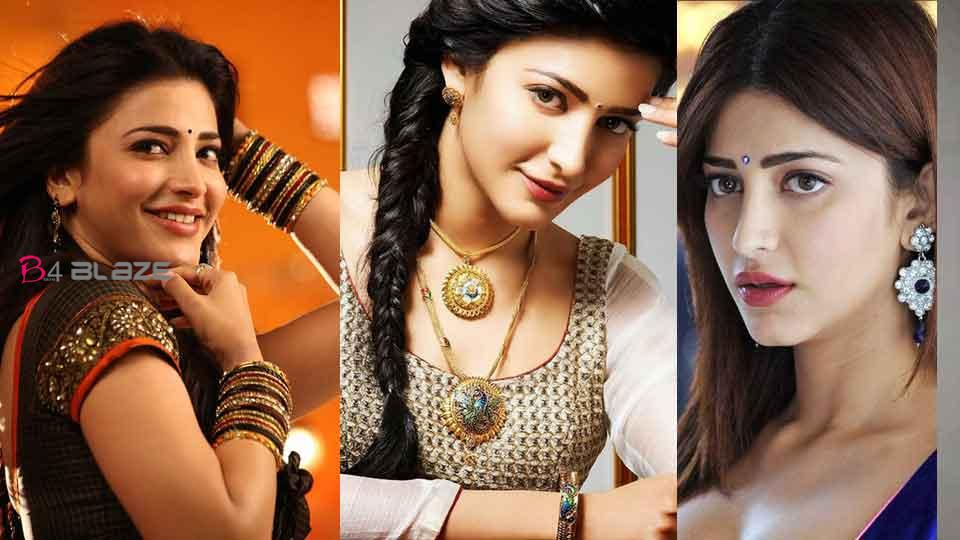 My father was the reason I got a place in cinema Shruti Haasan!