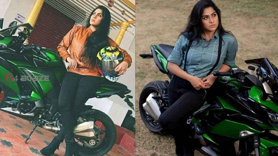 Swasika ready for bike ride, photoshoot pictures of the actress go viral!