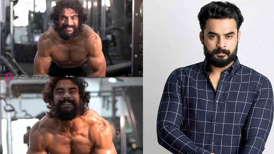 Tovino Thomas with muscle