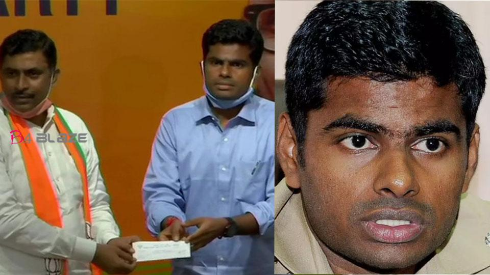 The young IPS officer resigned and joined the BJP in Tamil Nadu