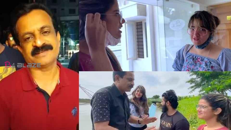 Amrutha and Abhirami meet with Rajithkumar