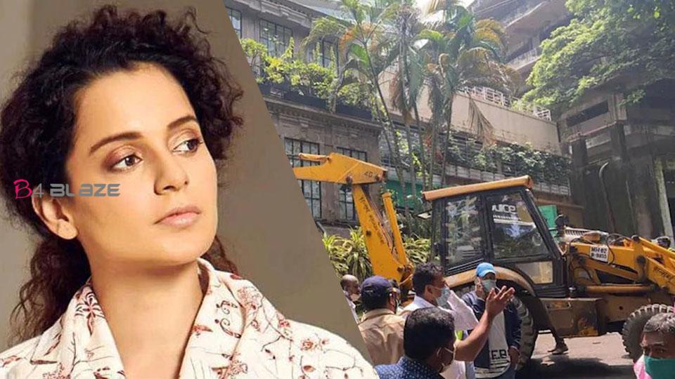 Kangana Ranaut returns to Mumbai