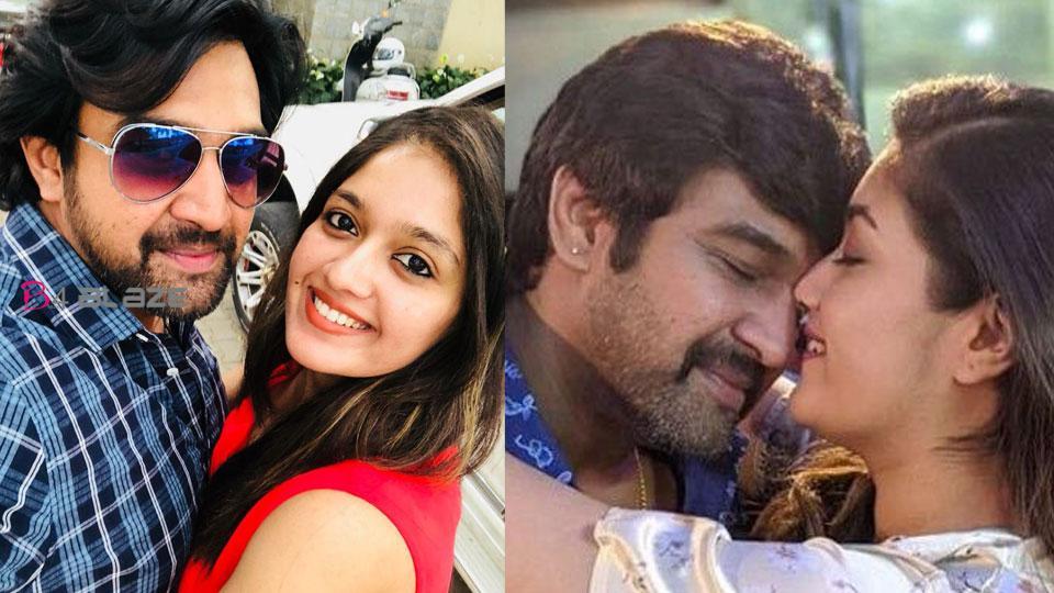 Meghna Raj's birthday wished to Chiru