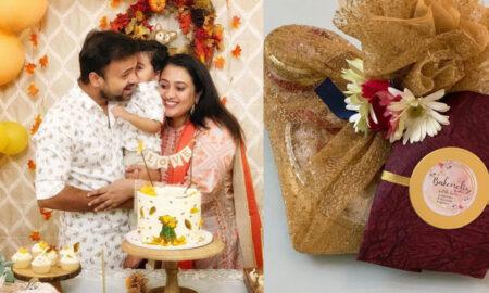 Priya's birthday gift to Kunchacko Boban