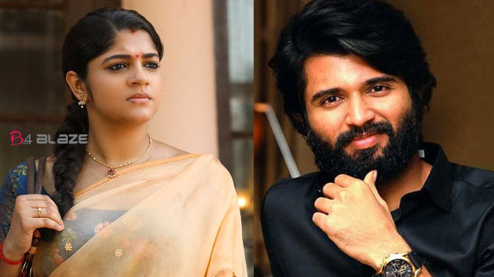 Vijay Devarakonda about Aparna Balamurali