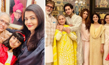 Aishwarya Rai wrote a special message on marriage anniversary of mother and late father